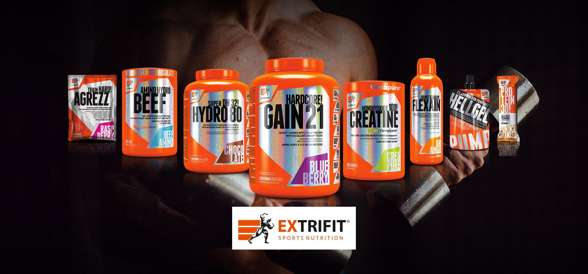 Découvrez notre gamme exclusive de produits de nutrition sportive Extrifit